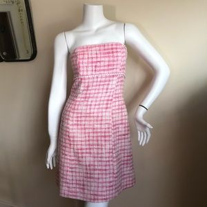 Lilly Pulitzer strapless tweed dress